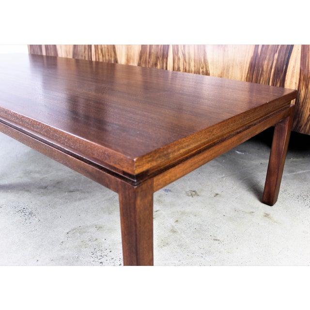 Harvey Probber Mahogany Coffee Table - Image 5 of 8