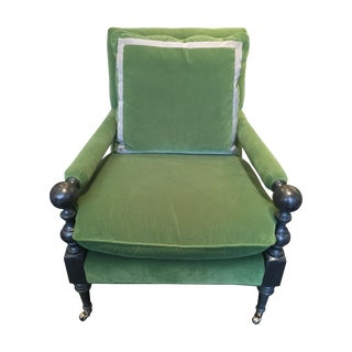 CR Laine Furniture Bradstreet Chair in Velvet