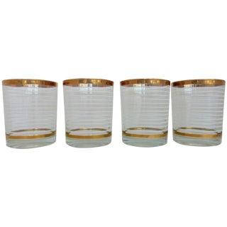 Mid-Century Whiskey Glasses - Set of 4