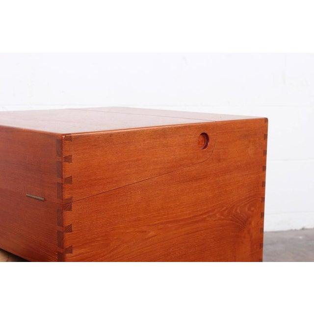 Hans Wegner Teak Cube Bar - Image 3 of 10