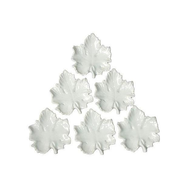 Italian Maple Leaf Tea Bag Holders- Set of 6 - Image 1 of 3