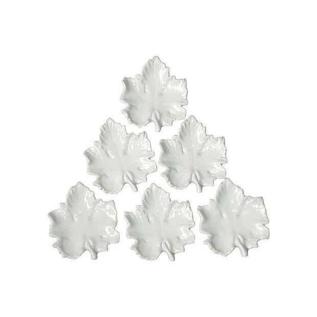 Image of Italian Maple Leaf Tea Bag Holders- Set of 6
