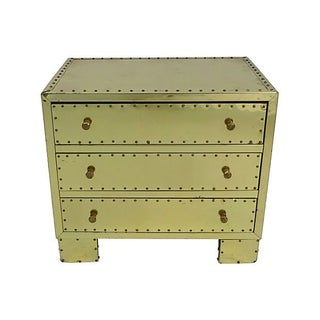 Brass Clad Chest of Drawers