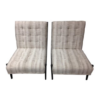 Vintage Italian 1940s Lounge Chairs - a Pair