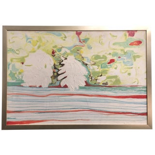 Acrylic Painting Attributed to Barbara Gray