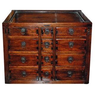 18th c. Miniature Chinese Medicine Cabinet