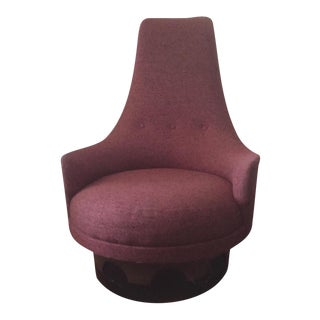 Adrian Pearsall Swivel Lounge Chair