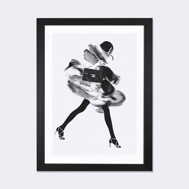 Judith Van Den Hoek 'Running Late I' Framed Print - Image 2 of 3