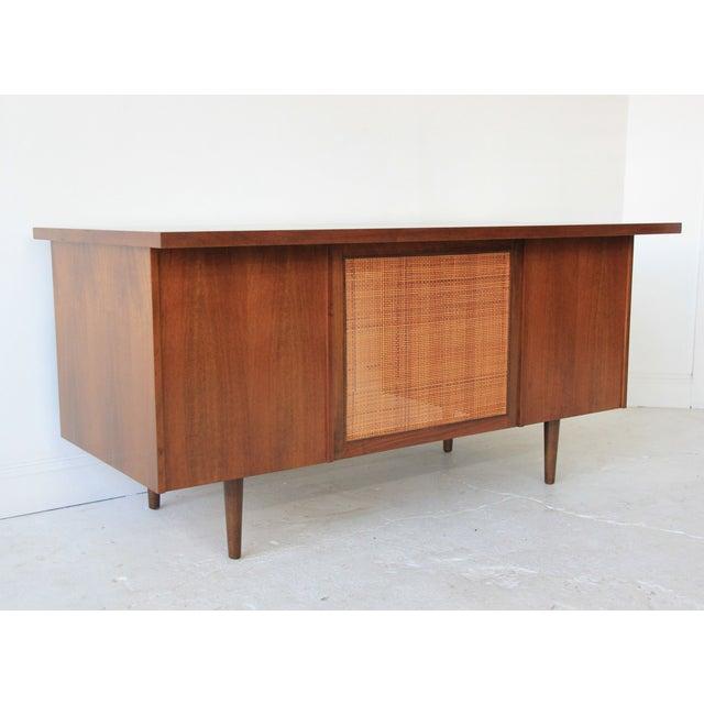 Image of Mid-Century Modern Floating Desk
