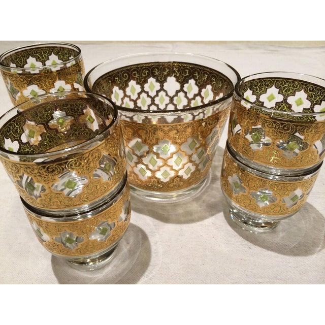 "Image of ""Valencia"" Rocks Glasses and Ice Bucket Set"