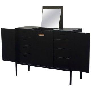 John Stuart Mid-Century Modern Dresser with Vanity Mirror