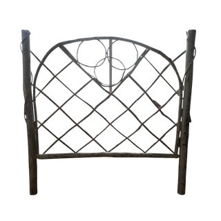 Distressed French Country Wood Headboard