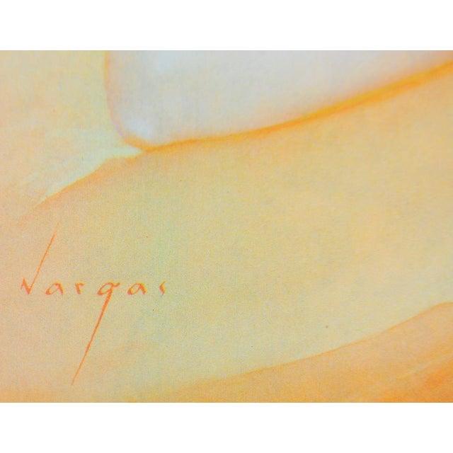 Image of Vintage Vargas Blonde Pin Up Print