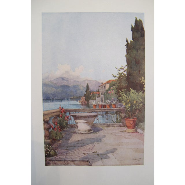 1905 Ella du Cane Print, A Garden, Lago d'Orta - Image 2 of 4