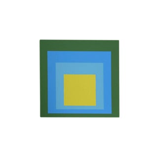 "Josef Albers ""Portfolio 1, Folder 5, Image 2"" Screen Print"