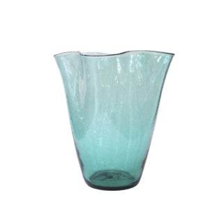 Hand Blown Vintage Blenko Glass Vase