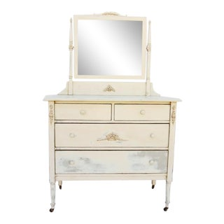 French Country Style Cream Chest of Drawers