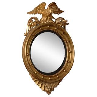 Eagle Crested Convex Mirror