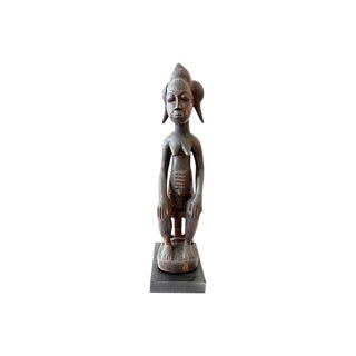 Old Baule Female Figure Spirit Spouse