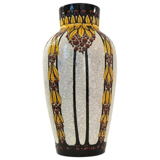 Tall Charles Catteau Vase
