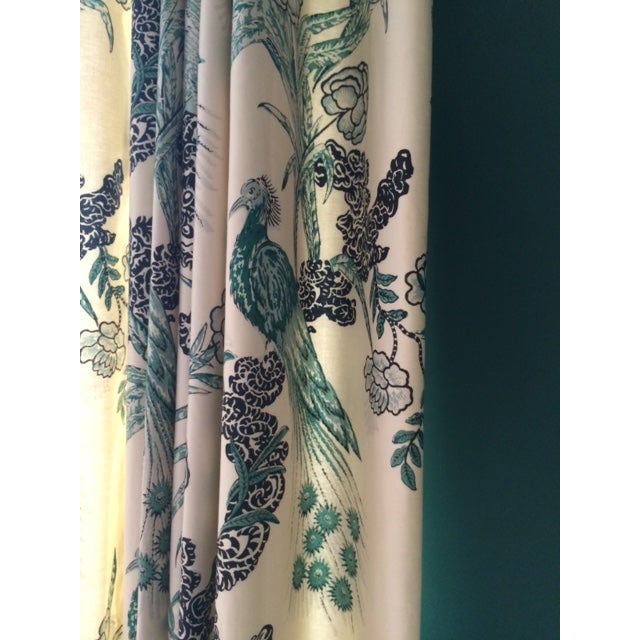 Drapery Panels w/ Miles Redd for Schumacher Fabric - Image 5 of 7