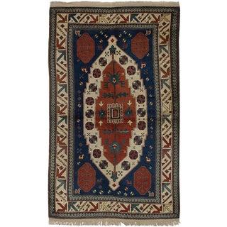 """Anatolian Handmade Vintage Turkish Rug - 3'9"""" x 6'3"""""""