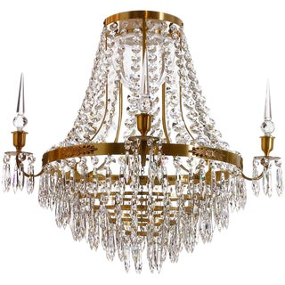 Empire Cognac Nobel Bathroom Chandelier