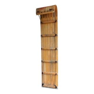 Vintage Wood Toboggan