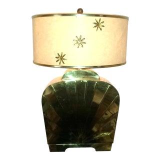 Mid-Century Chapman Brass Table Lamp