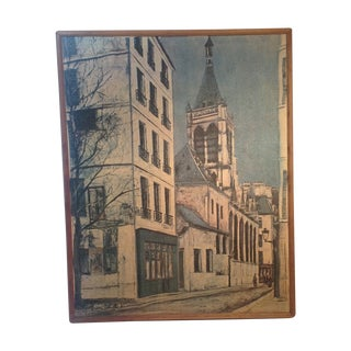 Vintage Maurice Utrillo Art