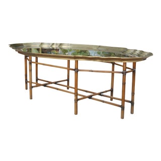 Bamboo style coffee table