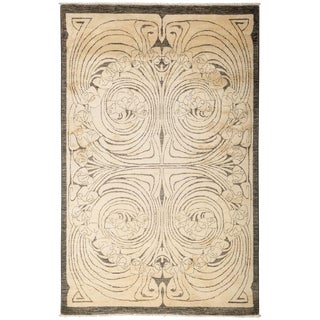 """Shalimar, Hand Knotted Area Rug - 4' 10"""" x 7' 8"""""""