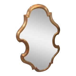 Free Form Hollywood Regency Mirror