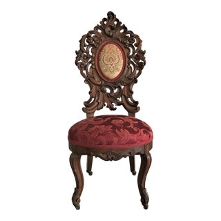 Ca. 1860 Victorian Rococo Chair