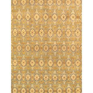 Pasargad Ikat Wool Rug- 5′1″ × 8′