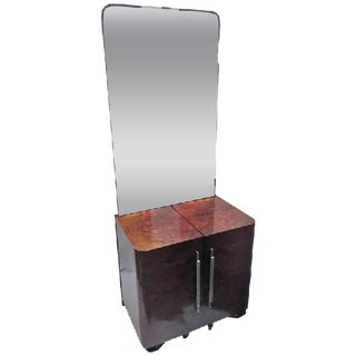 FRENCH MODERNIST ART DECO VANITY