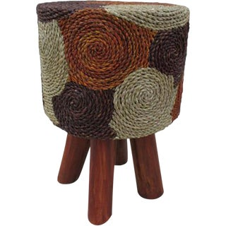 Indonesian Round Counter Stool