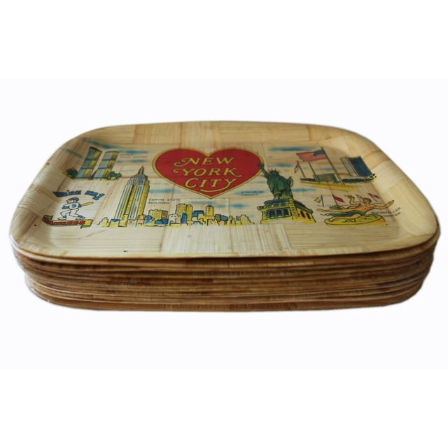 Vintage New York City Trays - Image 2 of 5