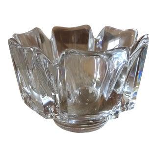Orrefors Crystal Corona Decorative Bowl