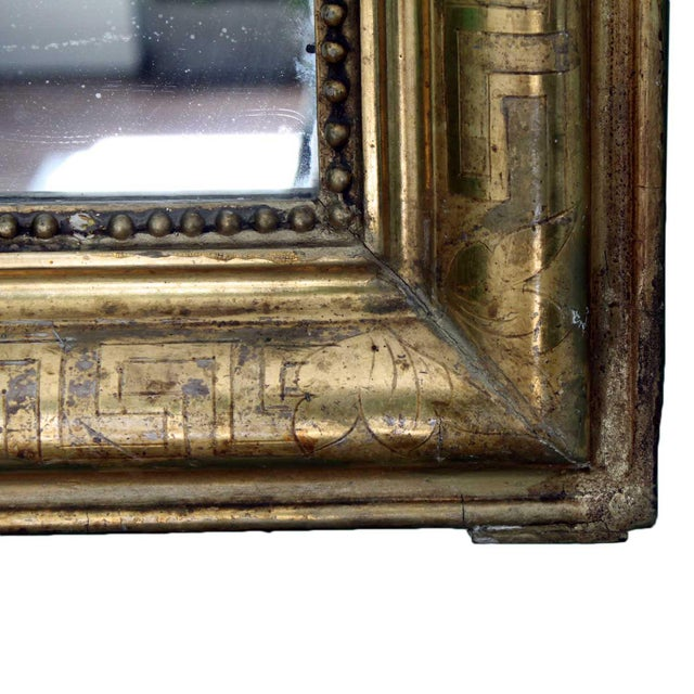 Louis Philippe Giltwood Mirror - Image 3 of 4
