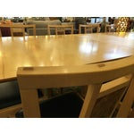 Image of Robert Stangler Argus Dining Table & McCormick Chairs - Set of 11