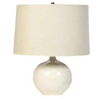 George Kovacs White Ceramic Table Lamp