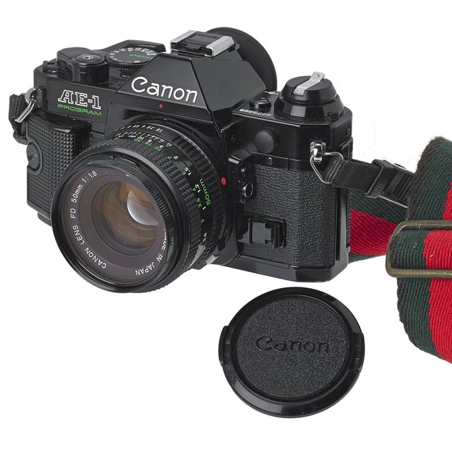 Image of Vintage Canon AE-1 35mm Camera