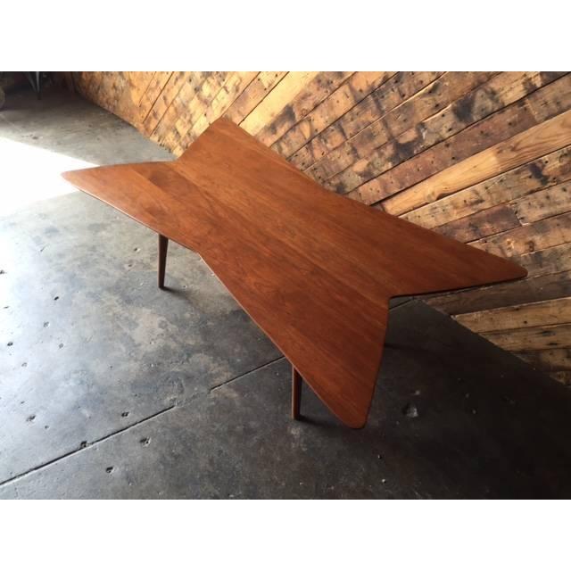 Mid-Century Bow Tie Coffee Table - Image 3 of 6