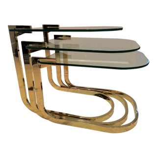 Milo Baughman Nesting Tables - Set of 3
