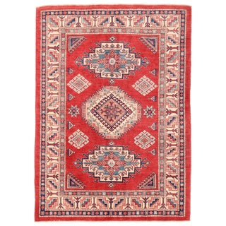 """Pasargad Kazak Wool Rug - 4' 9"""" X 6' 8"""""""