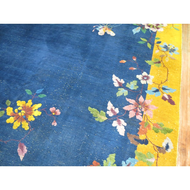 Chinese Art Deco Rug, 9' x 11'9'' - Image 2 of 9