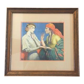 """""""Fortune Teller"""" by Wladyslaw Benda 1934"""