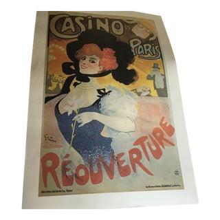 Vintage Parisian Advertising Poster