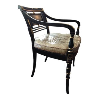 Etruscan Decorated Regency Chair